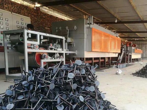 网带炉气门芯热处理生产线