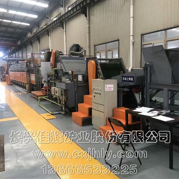 无马弗托辊式网带炉热处理生产线