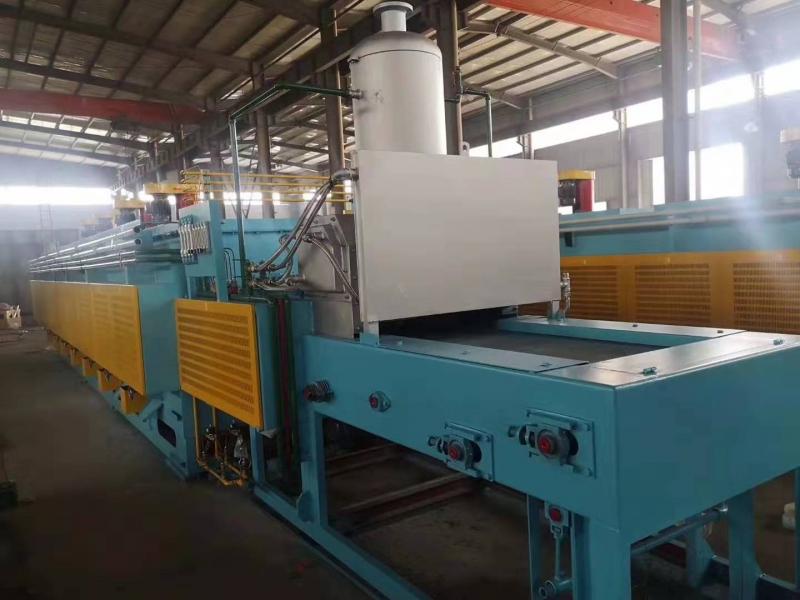 燃气式托辊网带炉生产线