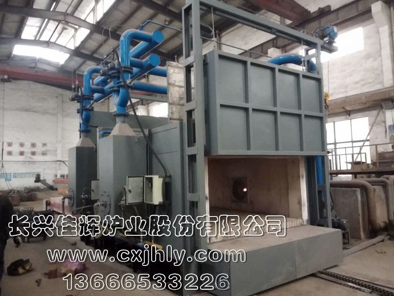 蓄热式燃气台车炉